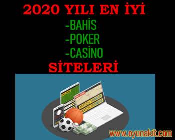 2020 Yılı En İyi Bahis-Casino-Poker Siteleri