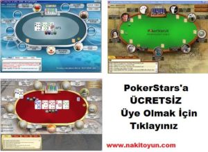PokerStars Üye Ol