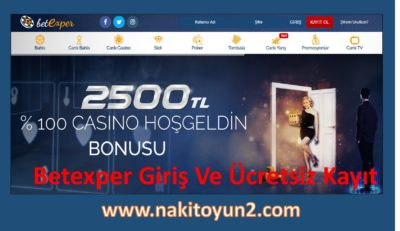 BETEXPER- GİRİŞ- KAYIT- CASİNO- BAHİS- CANLI- MOBİL