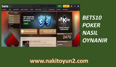 BETS10- BETSSON- POKER- NASIL OYNANIR- OYNA-İNDİR
