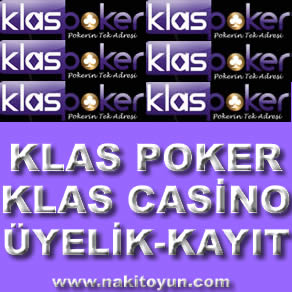 Klas Poker - Klas Casino Üyelik - Kayıt