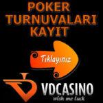 VD Poker Turnuvaları